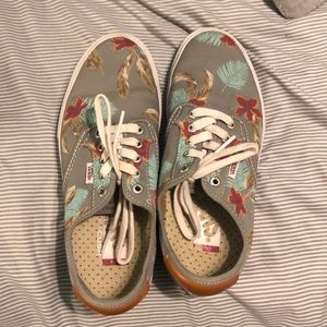 FLORAL ULTRA CUSHION VANS
